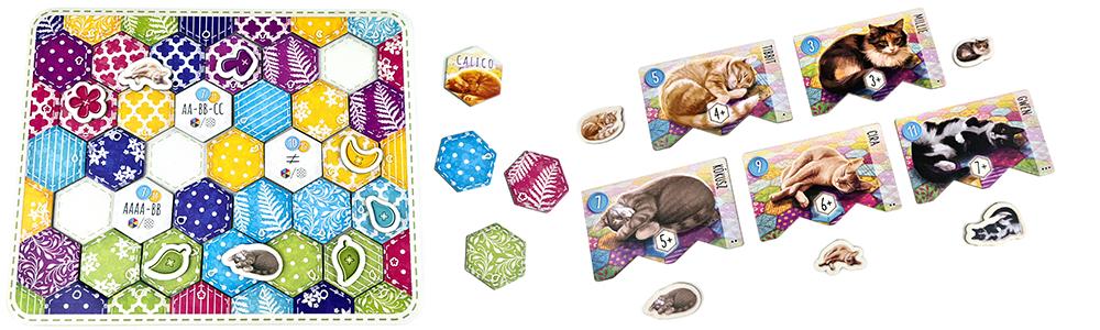 Calico – Foltok, cicák, takarók családi társasjáték