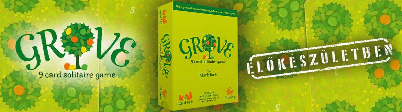 Grove Kickstarteres kártyajáték