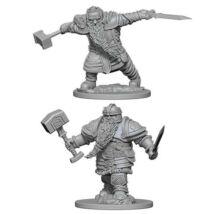 D&D Nolzur's Marvelous Miniatures: Dwarf Fighter Male