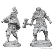 D&D Nolzur's Marvelous Miniatures: Human Barbarian Male