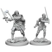 D&D Nolzur's Marvelous Miniatures: Human Barbarian Female