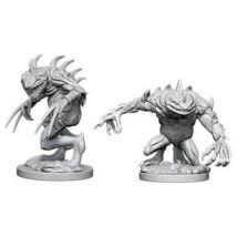 D&D Nolzur's Marvelous Miniatures: Grey Slaad & Death Slaad