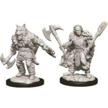D&D Nolzur's Marvelous Miniatures: Half-Orc Barbarian Male