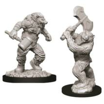 D&D Nolzur's Marvelous Miniatures: Wereboar & Werebear