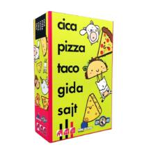 Cica, pizza, taco, gida, sajt