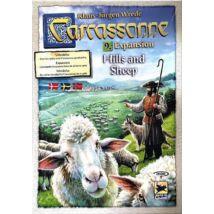 Carcassonne 9. Hills & Sheep (skandináv kiadás)