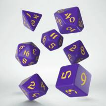Dobókocka - Classic Runic Purple/Yellow (7 db-os szett)