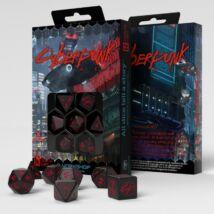 Dobókocka - Cyberpunk Red RPG Set (7 db-os szett)