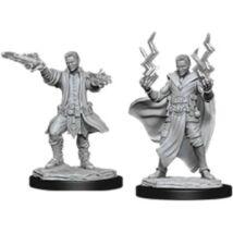 D&D Nolzur's Marvelous Miniatures: Human Sorcerer Male Wave 12