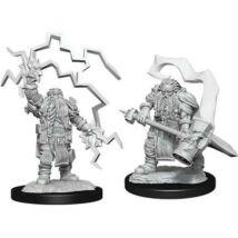 D&D Nolzur's Marvelous Miniatures: Dwarf Cleric Male Wave 14