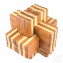 Logikai kereszt 6 részes (nagy, bambusz)