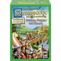 Carcassonne 8. kiegészítő - Brücken, Burgen und Basare
