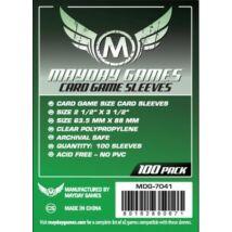 Mayday kártyavédő (sleeve) - 63,5*88 mm (100 db/csomag)