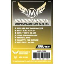 Mayday mini US kártyavédő (sleeve) - 41*63 mm (100 db/csomag)