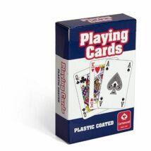 Römi kártya szimpla pakli piros/kék