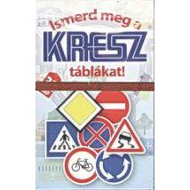 Ismerd meg a KRESZ táblákat! - oktató kvartett játék