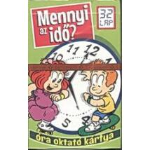 Mennyi az idő? - Óra oktató memória kártyajáték