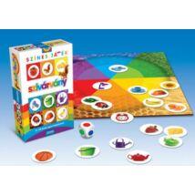 Érzékek sorozat Szivárvány játékvariációk színekkel