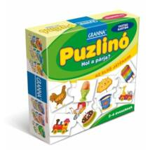 Az első játékaim Puzzlinó – Hol a párja?