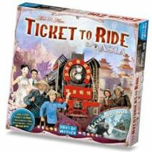 Ticket to Ride Map Collection 1: Team Asia & Legendary Asia