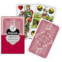 Magyar kártya, piros hátoldalú