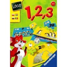Ravensburger Logo 1,2,3 számolni tanulok oktató játék