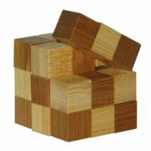 3D Bambusz puzzle -Snake cubes **473128
