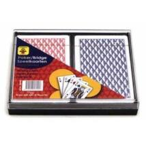 Kártya 2*55 lap, műanyag dobozban 750116