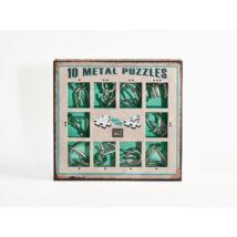 10 Metal Puzzle Set - zöld *-***