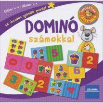 Óvodások játéktára Dominó számokkal (Új kiadás)