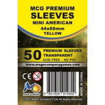 MCG Premium Mini US kártyavédő (sleeve) - 50db/csomag