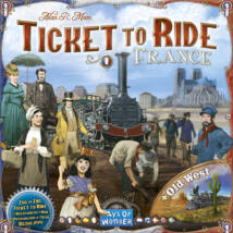 Ticket to Ride Map Collection 6: France & Old West