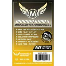 Mayday Premium Mini US kártyavédő (sleeve) - 41*63 mm (50 db/csomag)