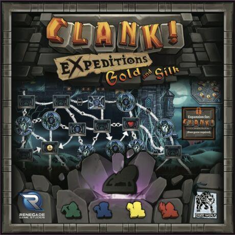 Clank! - Gold and Silk kiegészítő