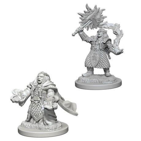 D&D Nolzur's Marvelous Miniatures: Dwarf Cleric Female