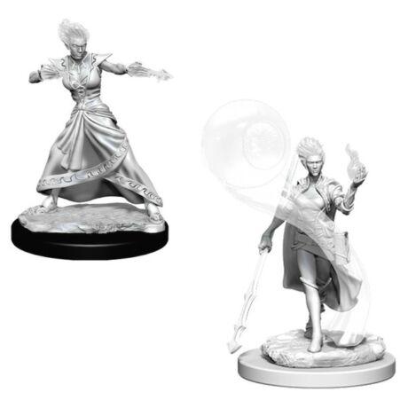 D&D Nolzur's Marvelous Miniatures: Fire Genasi Wizard Female