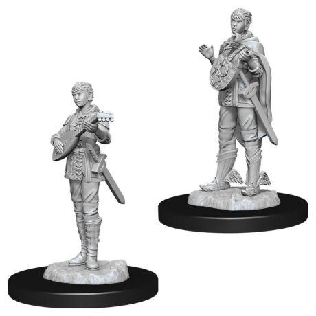 D&D Nolzur's Marvelous Miniatures: Half-Elf Bard Female