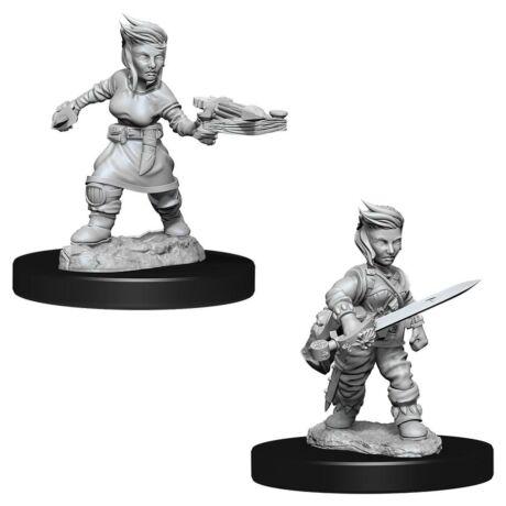 Pathfinder Deep Cuts: Halfling Rogue Female