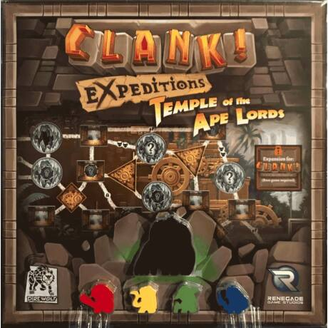 Clank! - Expeditions! Temple of the Ape Lords kiegészítő