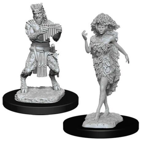 D&D Nolzur's Marvelous Miniatures: Satyr & Dryad