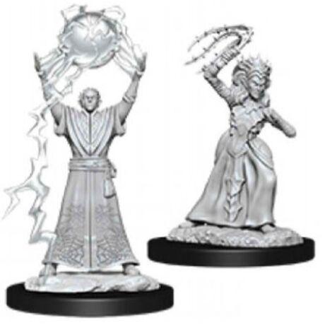 D&D Nolzur's Marvelous Miniatures: Drow Mage & Priestess