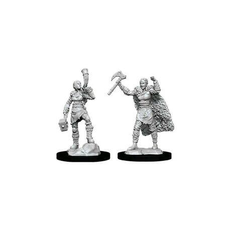 D&D Nolzur's Marvelous Miniatures: Human Barbarian Female Wave 12