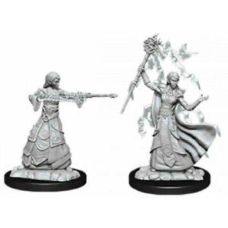 D&D Nolzur's Marvelous Miniatures: Elf Wizard Female Wave 12