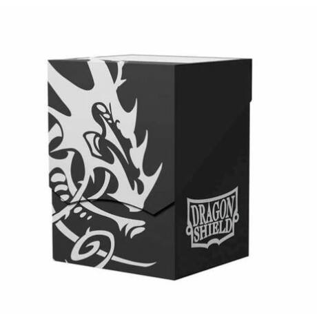 Dragon Shield: Deck Shell: 100+ Fekete/Fekete