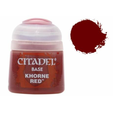 Citadel Base: Khorne Red