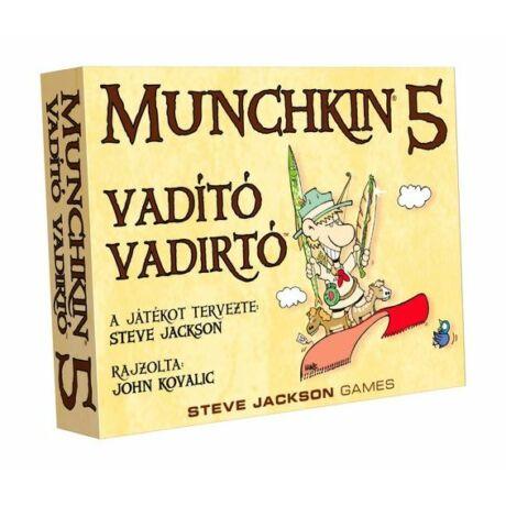 Munchkin 5 – Vadító vadirtók