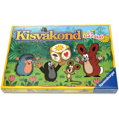 Ravensburger Kisvakond és barátai társasjáték
