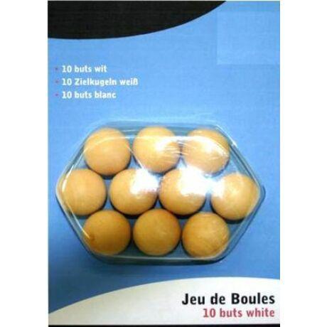 Petanque fa kisgolyó, 10 db - 251144