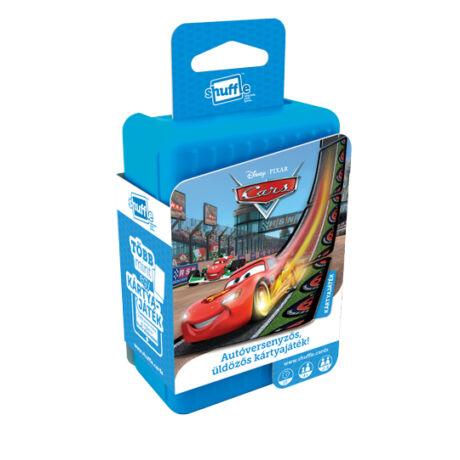 Shuffle - Disney Cars autóversenyzős kártyajáték