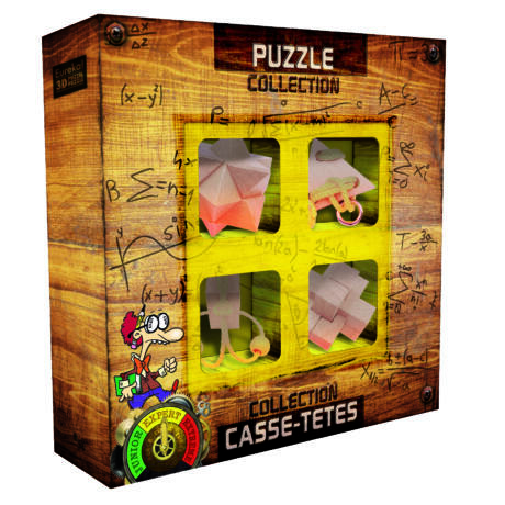 Puzzles collection EXPERT Wooden